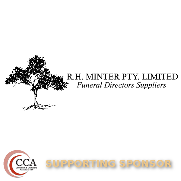 CCANSW General Sponsor R.H. Minter